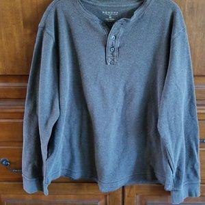 Sonoma Lifestyles Henley sweater
